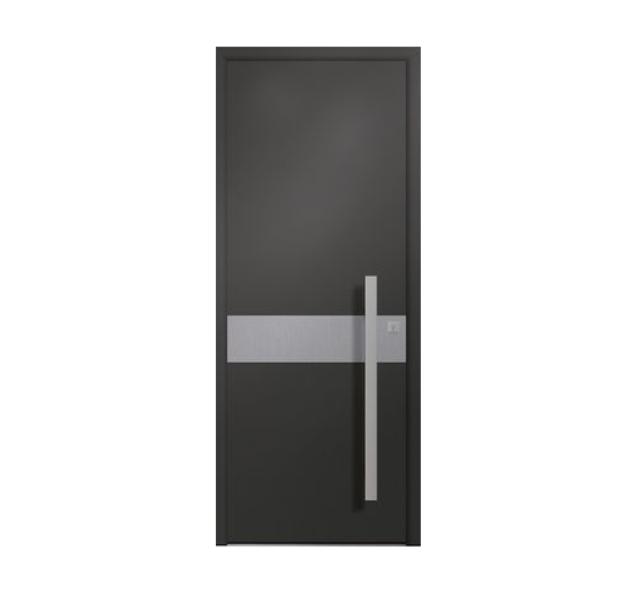 Découvrez nos portes d'entrée en ALU  BOIS  PVC